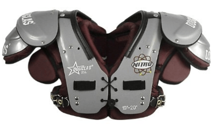best football shoulder pads for running backs