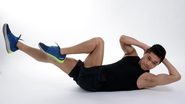 abs workout with no equipment, just shoes