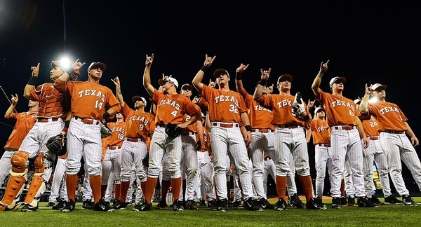 top baseball colleges University of Texas at Austin