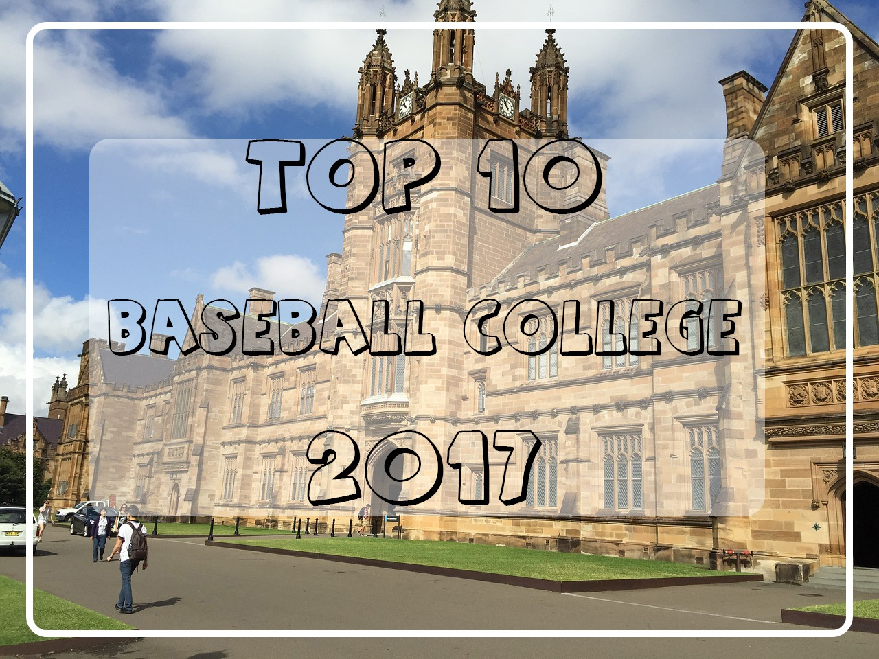 top baseball colleges